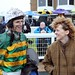 Lucinda Russell sees in the New Year with four winners at Ayr Racecourse