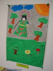 """""""Sto. Nino ng Batangan"""" Childrens drawing contest and exhibit in SM City Batangas"""