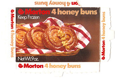 1972 Morton Frozen Honey Buns Continental Baking (gregg_koenig) Tags: old breakfast vintage frozen baking box continental honey buns 70s 1970s 1972 itt morton