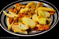 Potato with shrimps (Abo Fatomh) Tags: food wow nice tasty shrimp eat potato seafood dishes tastyfood