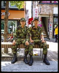 Koreans #25 (Franco Rabazzo) Tags: portrait color 120 film analog korea slidefilm mf 6x7 provia 400iso plaubel diascan fujiprovia400x makina670