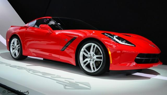 red stingray chevy corvette 2014 c7