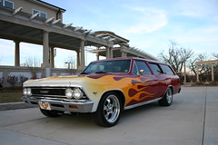 "1966 Chevelle Custom 2 Door Wagon • <a style=""font-size:0.8em;"" href=""http://www.flickr.com/photos/85572005@N00/8427799865/"" target=""_blank"">View on Flickr</a>"