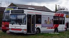 Bus Eireann DPC105 (02D18255). (Fred Dean Jnr) Tags: dublin bus strawberry pointer dennis dart buseireann plaxton april2010 dpc105 ek51xxl 02d18255 buseireannbroadstonedepot