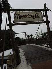 The Bridge to Adventure Isle (CoasterMadMatt) Tags: park bridge winter paris france season french photography  foto photographie suspension photos euro disneyland magic hiver january kingdom disney resort adventure photographs theme isle janvier suspensionbridge parc franais park adventureland magie saison parc thme 2013 magic adventureisle theme paris euro disney disneyland coastermadmatt disneyland thme
