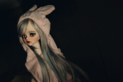 R u bunny or kitty lol (_Monsun_) Tags: cute girl doll vampire bjd dim dimdoll bellosse