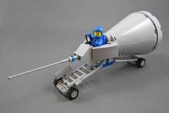 NCS Ultra-Rapid Circumstance Investigator (halfbeak) Tags: lego rover moc 2013 classicspace febrovery febrovery2013
