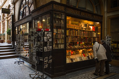 Do you think they have the new Fifty Shades of Grey here? (Michel Couprie) Tags: old people paris france shop canon eos mosaic tripod sigma books galerie bookstore 7d postcards 1020mm passage bookshop livre gens ancien mosaque vivienne librairie cartespostales trpied 100commentgroup fiftyshadesofgrey