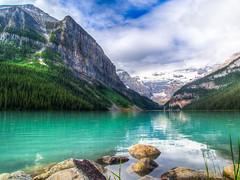 Lake Louise (Liang Bao) Tags: park 2 lake canada rockies olympus louise national e banff goh emerald moraine bao pl liang