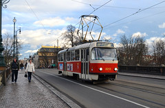 Prague Tram System (prahatravel) Tags: travel public by europe republic czech prague tram praha praga system v transportation transit tramway doprava prahy praze mesta tramvajov podnik dopravni hlavniho t3rp