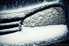 VW Golf in the snow (Wesley Lelieveld Photography) Tags: snow canon golf volkswagen eos covered headlight 1000d