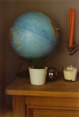 Fuzzy (Olynx) Tags: mamiya film analog 35mm globe grain hoya colorfilm