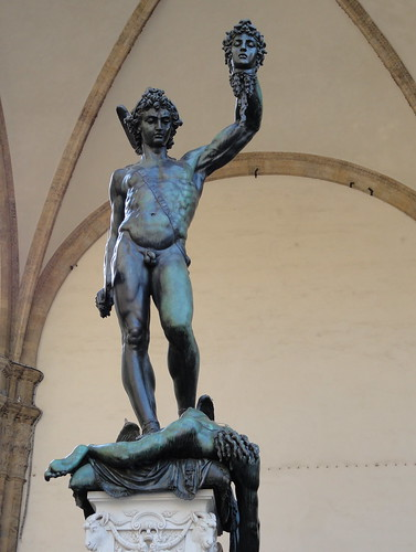 Perseus With The Head Of Medusa By Benvenuto Cellini A