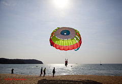 The Joy Of Flying (sydbad) Tags: travel beach canon fun eos flying joy malaysia langkawi cenang 24105mm 5dmk2 photographyforrecreation