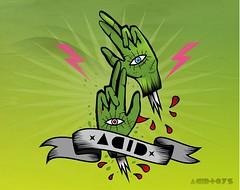 hands zombiezz <<<<< (acidtoys) Tags: trip toys blood acid flash manos drugs rayo sangre tintas pepa locura acidtoys