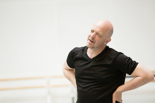 Kim Brandstrup rehearsing 'Machina', part of Metamorphosis: Titian 2012. © ROH / Johan Persson 2012