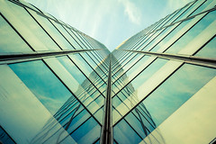 Where We Can Never See (Jeremy Brooks) Tags: sanfrancisco california usa abstract reflection building architecture clouds marketstreet fav10 sanfranciscocounty 444marketstreet 444market 1frontstreet 1front lensjupiter985mmf20