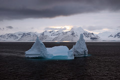 "An iceberg at dawn • <a style=""font-size:0.8em;"" href=""http://www.flickr.com/photos/16564562@N02/8512789444/"" target=""_blank"">View on Flickr</a>"