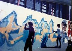 CIRCULAR QUAY 1986 (pjaydee) Tags: graffiti sydney quay 1986 circular olschool rexzy