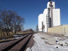 Story City, Iowa, Union Pacific Railroad, Grain Elevator (photolibrarian) Tags: