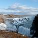 Iceland Gullfoss Wasserfälle