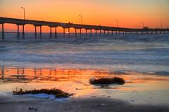 3/10/13 Ocean Beach sunset - HDR (San Diego Shooter) Tags: sunset sandiego sunsets oceanbeach hdr hdrsunset