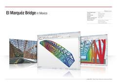 El Marquéz Bridge in Mexico (MIDAS IT) Tags: bridge project mexico cable el structure application civil pont dart stayed midas voute analysis marquez poutre suspendu ouvrage analyse haubant structurelle
