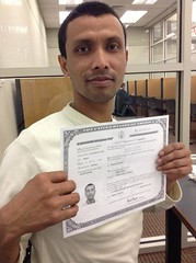New Citizen (garynet) Tags: library certificate citizen mohi naturalization