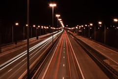 Streetphotography?? (Gikon) Tags: longexposure light night 35mm lights nikon highway nightshot citylights carlights 35mmf18 diamondclassphotographer flickrdiamond gikon d3100