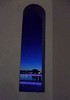 window view from the bridge (just me julie) Tags: bridge arizona lake window dusk tempe