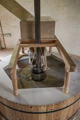 Holgate Windmill - wind-powered stones (nican45) Tags: york slr mill windmill canon yorkshire grain sigma wideangle millstone restoration dslr flour 1020mm gears 1020 shaft holgate 600d stonefloor hwps 1020mmf456exdc holgatewindmill eos600d stonesfloor