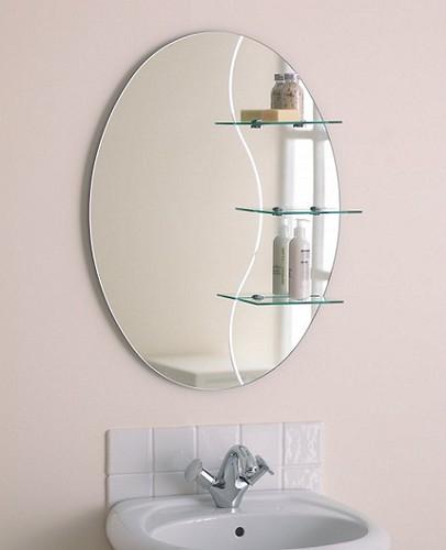espejo de bano decorativo