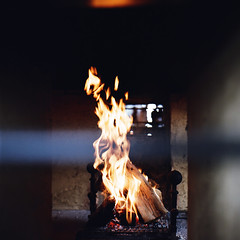 (masaaki miyara) Tags: winter 120 6x6 japan bar mediumformat fire hotel march cafe fireplace warm hokkaido quiet lounge north 66 lobby stove squareformat   firewood niseko     hasselblad500cm kodakportra400       80mmf28 2013  carlzeissplanar  theideaofnorth