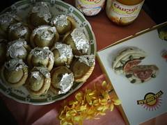 HAPPY HOLI (Esani (Nibedita)) Tags: india color colors festival digital fun photography joy olympus sweets krishna hindu hinduism rejoice barfi holifestival abir festivalofcolours festivalofindia mithai vrindaban cmaera amateurphotography gulal thandai