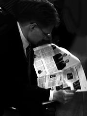 Dead news (mindfulmovies) Tags: cameraphone street people urban blackandwhite bw public monochrome daylight blackwhite noiretblanc availablelight candid creative citylife streetphotography photojournalism cellphone streetportrait streetlife mobilephone characters streetphoto popular schwarzweiss urbanscenes decisivemoment streetshot iphone hardcorestreetphotography blackwhitephotography gettingclose streetphotographer publiclife documentaryphotography urbanshots mobilesnaps candidportraits seenonthestreet urbanstyle streetporn creativeshots mobilephotography decisivemoments biancoynegro peopleinpublicplaces streetfotografie streetphotographybw takenwithaniphone lifephotography iphonepics iphonephotos iphonephotography iphoneshots absoluteblackandwhite blackwhitestreetphotography iphoneography iphoneographer iphone3gs iphoneographie iphonestreetphotography withaniphone streettog emotionalstreetphotography mindfulmovies editanduploadedoniphone takenandprocessedwothiphone3gs