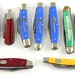 1028. Group of 9 Solingen Pocket Knives