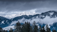 Wilder Kaiser Mountains (puscristian) Tags: winter mountain alps austria landscapes wintertime kirchbergintirol