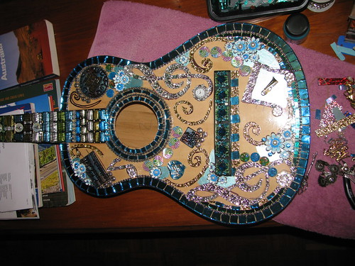 WIP - mosaic guitar - Time for Music