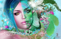 Magissa Denver   u  ( AyE  Cre[ART]ive Photography) Tags: flowers sea portrait abstract color art love colors fashion photoshop portraits studio photography foto image photos pics creative profiles illustrations images fantasy photostudio illustrator photoart vector immagini fotografico creartive slword