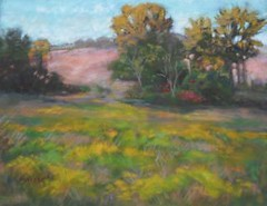 Goldenrod Afternoon - pastel