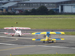 G-BRBN With G-FORZ Two Pitts Special (Aircaft @ Gloucestershire Airport By James) Tags: gloucestershire airport gbrbn gforz two pitts special egbj james lloyds