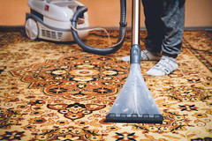 Cleaning Persian carpet (DriveTrafficMedia) Tags: brush carpet chores clean cleaner cleaning closeup concept domestic dust female floor girl handmade help home hoover hoovering household housekeeping housewife housework human hygiene indoors legs living maid maintenance manual occupation ornament pattern people persian person professional purity room rug servant vacuum washing woman worker young