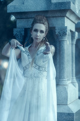 Comeyour place is ready . . . (Cardwell Photo LLC | Thanks for 2 Million Views!) Tags: autumn black blue bluehour brazoriacounty cemetery cosplay costume creepy dark dreamy dress evening evil fall fantasy fashion fog ghost gown grave greaterhouston haunting heatherzinczyn meetup model moody oldcolumbiacemetary outdoor ppl people reaching scary shadows standing texas tomb veil westcolumbia white woman unitedstates
