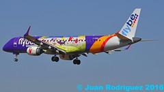 G-FBEM - Flybe - Embraer ERJ-195LR (ERJ-190-200 LR)  - PMI/LEPA (Juan Rodriguez - PMI/LEPA) Tags: nikon d90 sigma 70200mm 80400mm pmilepa aeropuerto airport sonsanjuan sonsantjoan palma mallorca aeroplano plane airplane aircraft embraer erj195lr flybe gfbem