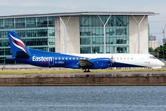 Eastern Airways - Saab 2000 - G-CDEA  London City Airport (paulstevenchalmers) Tags: londoncity london lcy airport