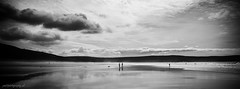 Surfers - Woolacombe (pm69photography.uk) Tags: woolacombe northdevon beach surfing sand sky clouds blackandwhite bw nikon d810 sigma35mm14art