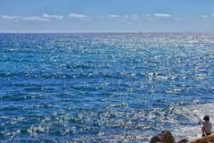 image (Luis Iturmendi) Tags: sea mar blue azul fisherman pescador baby nio airelibre heaven sky