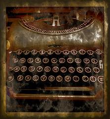 typewriter (Jackal1) Tags: vintage old typewriter mechanical machine letters keys