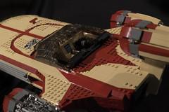 Landspeeder3 (aaron.fiskum) Tags: lego ideas x34 landspeeder star wars starwars hovercraft skywalker