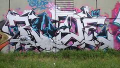 Rude (HBA_JIJO) Tags: streetart urban graffiti vitry vitrysurseine art france hbajijo wall mur painting letters peinture lettrage lettre lettring writer murale spray bombeaerosol